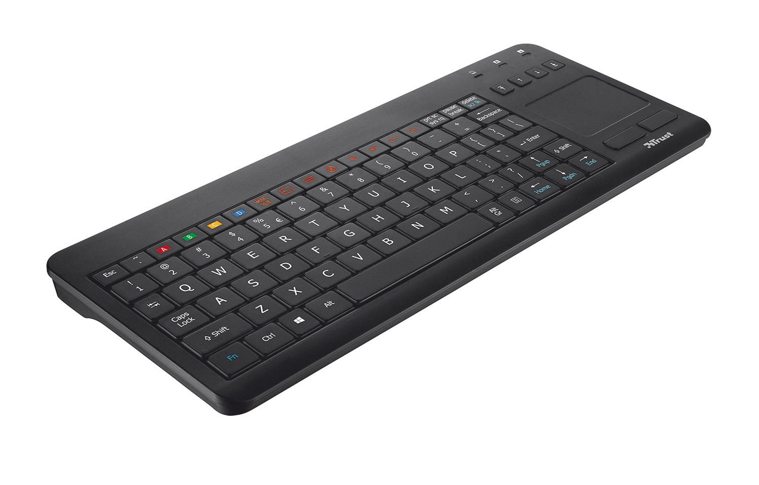 Trust Sento - Teclado para Smart TV Samsung, qwerty ...