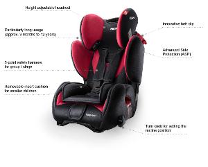 silla de coche recaro young sport