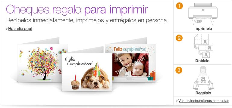Cheques regalo Amazon.es