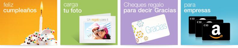 Cheques regalo de Amazon.es