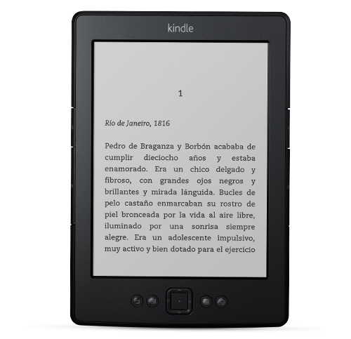 Kindle visto de frente