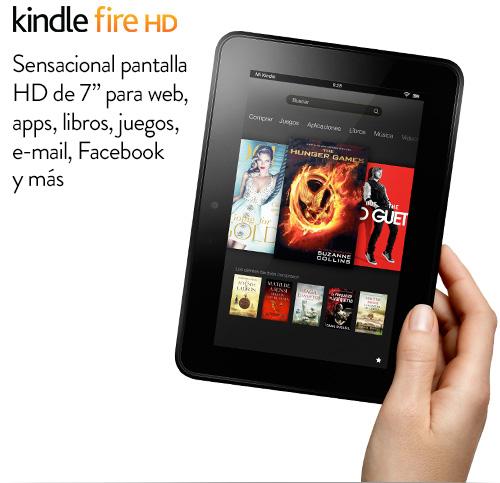 Kindle Fire HD: presentación