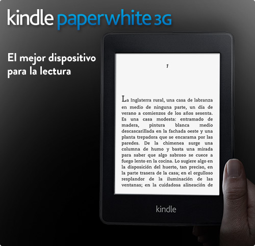Kindle Paperwhite e-reader: presentaci�n