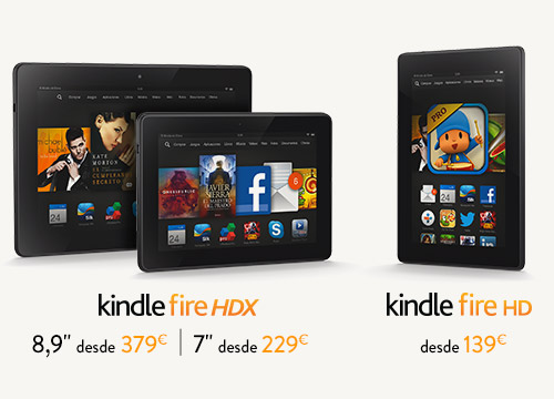 The all-new Kindle Fire Family