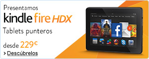 Kindle Fire HDX : tablets punteros