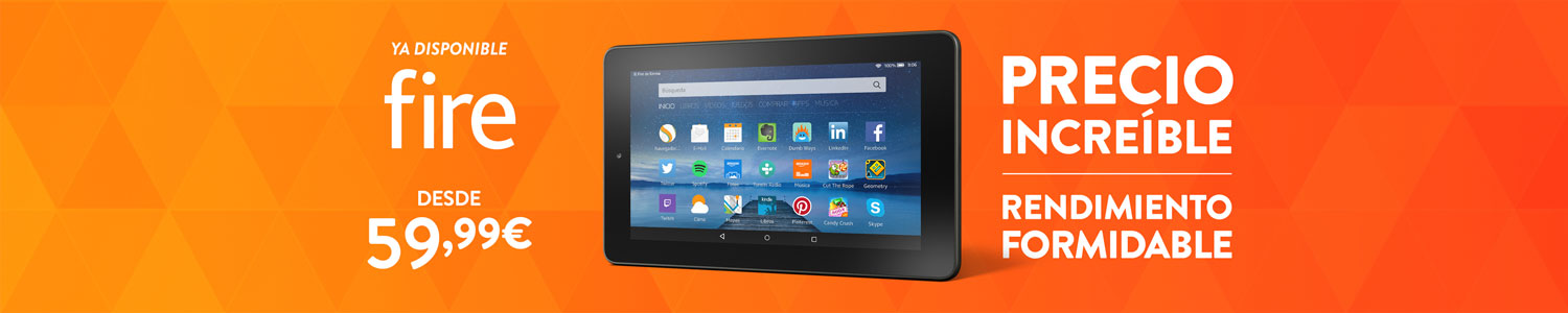 Nuevo tablet Fire - Ya disponible