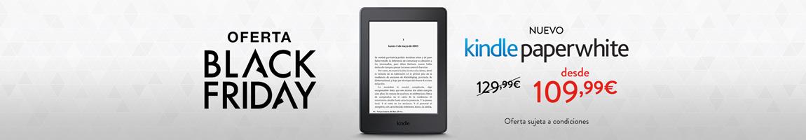 Nuevo Kindle Paperwhite desde solo 109,99 euros