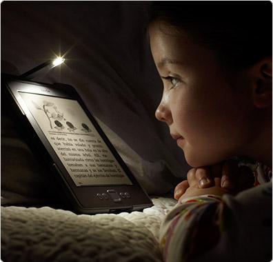 Lee fácilmente en la oscuridad