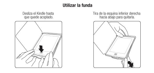 Utilizar la funda Kindle