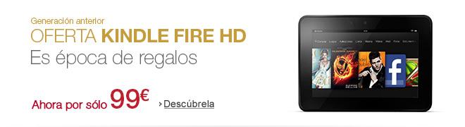 Generación anterior Oferta en Kindle Fire HD - ahora por sólo 99€