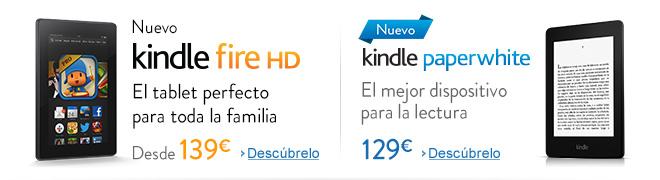 Nuevo Kindle Fire HD