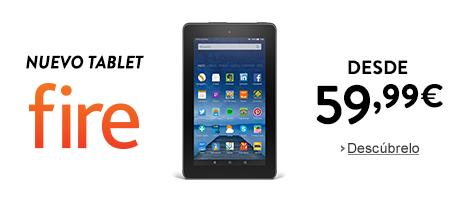 Nuevo tablet Fire desde 59,99 euros