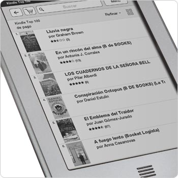 Visita la Tienda Kindle directamente desde tu dispositivo