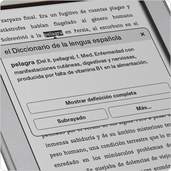 Busca definiciones de palabras con el diccionario integrado