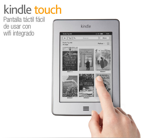 Kindle Touch: presentacin