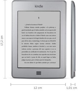 Lector Kindle: 17,2 cm x 12 cm x 1,01 cm