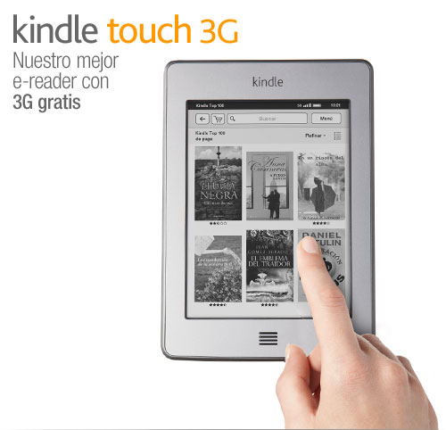 Kindle Touch 3G: presentacin