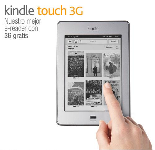 Kindle Touch 3G: presentaci�n