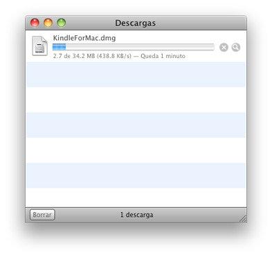 Amazon Kindle for Mac: Instrucciones de instalación