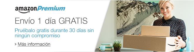 Env�o 1 d�a GRATIS con Amazon Premium