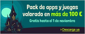 Promoci�n en la Tienda Apps: aplicaci�n gratuita del d�a - pack de apps gratis
