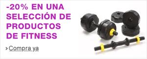 20% en una selecci�n de fitness