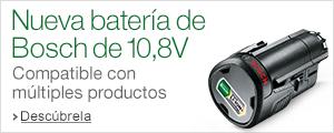 Nueva tienda bater�a de Bosch de 10,8V