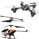Helicópteros y Drones