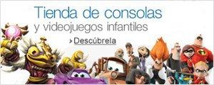Tienda de consolas y videojuegos infantiles