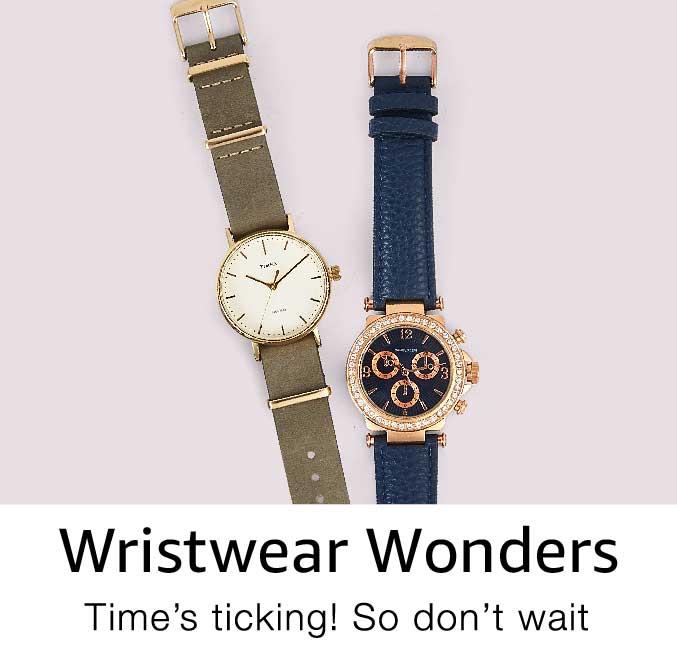 Wristwear wonders