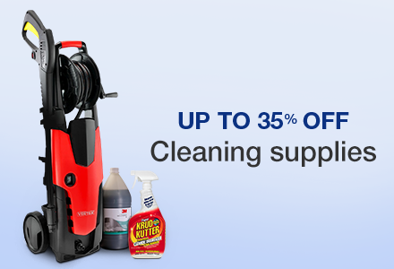 Up to 35% off on Cleaning Supplies  Janitorial & Sanitation Supplies