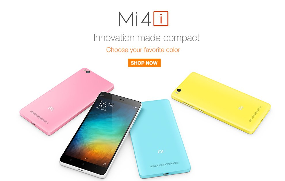 """REDMI 2, MI 4, and REDMI NOTE 4G"""