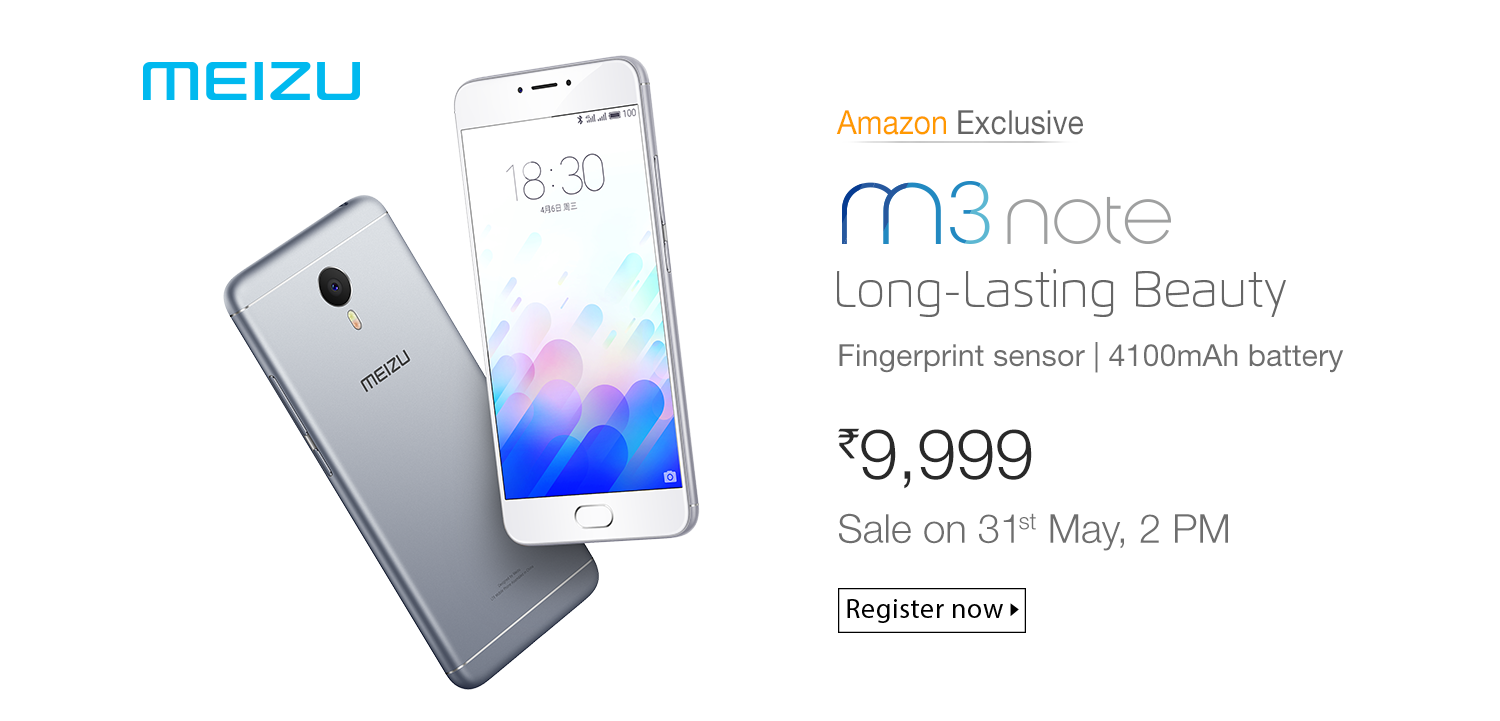 meizu m3 note register