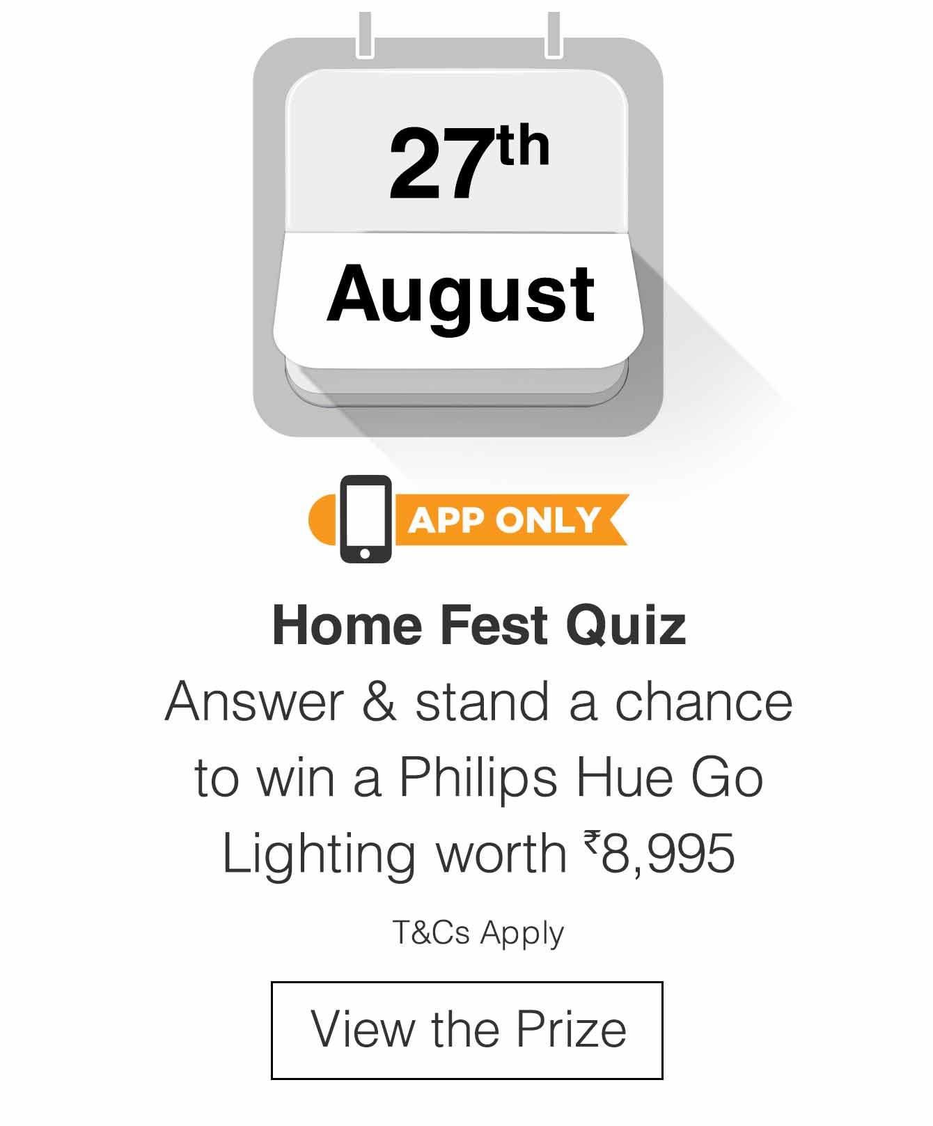 Home Fest Quiz
