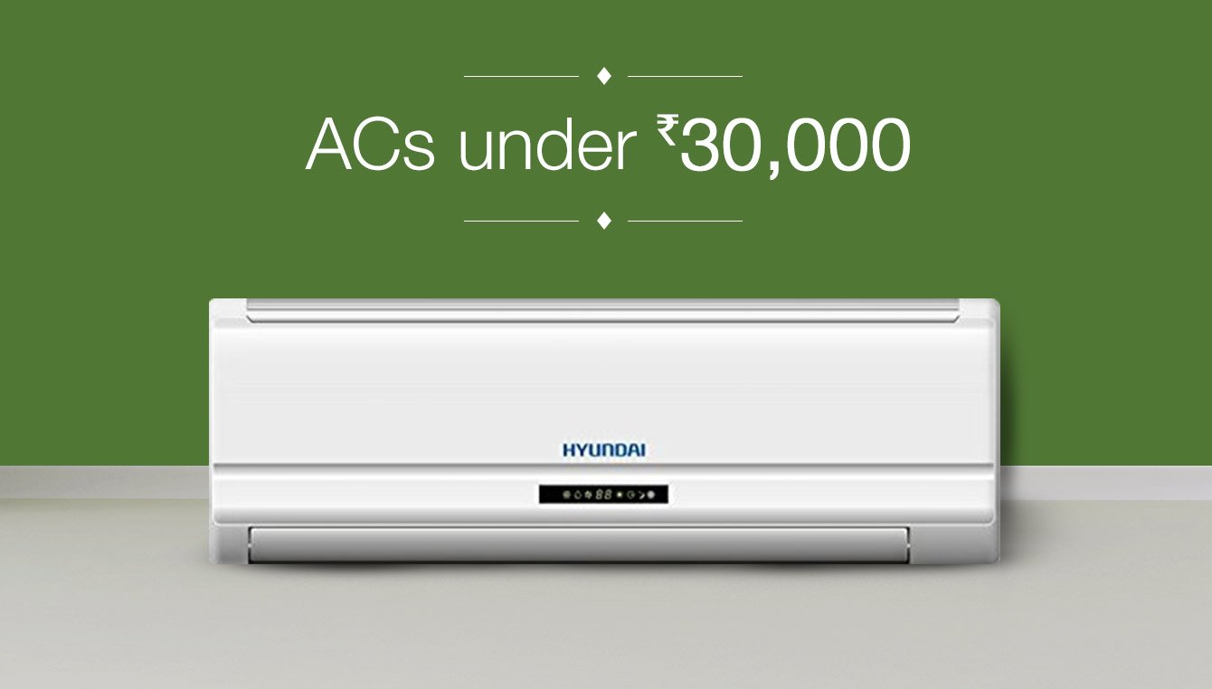 ACs under Rs 30000