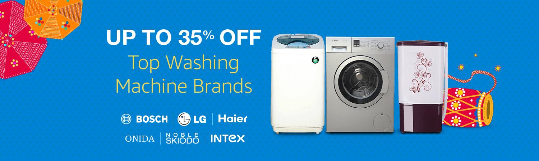 Top washing machine discounts