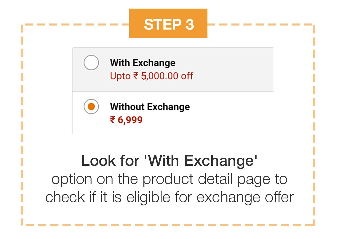 Look for with exchange