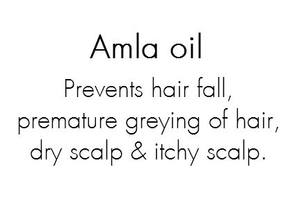 Prevents hair fall, premature greying of hair, damaged hair, dry scalp and itchy scalp.