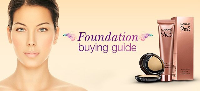 How to pick the right foundation, buy foundation according to your skin type, foundation buying guide, how to buy a foundation, how to apply foundation, foundation dor dry skin, foundation for oily skin, foundation application