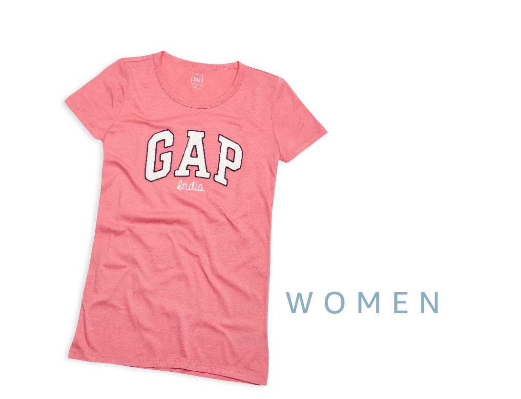 Design your own t shirt india cash on delivery - Gap Women