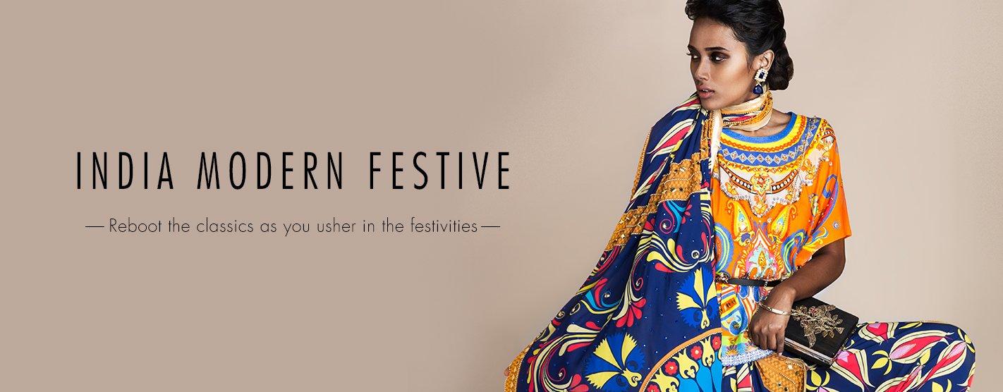 India Modern Festive