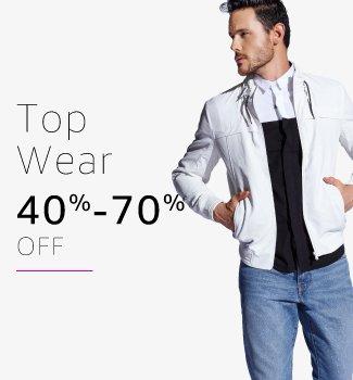 mens top wear