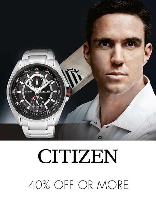 Citizen 40% off or more