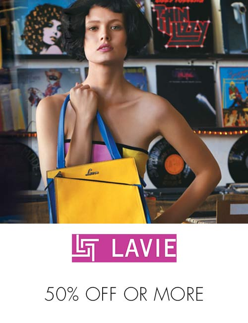 Lavie 50% off or more