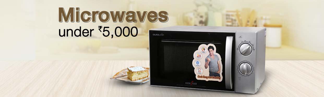 Microwaves Under 5000