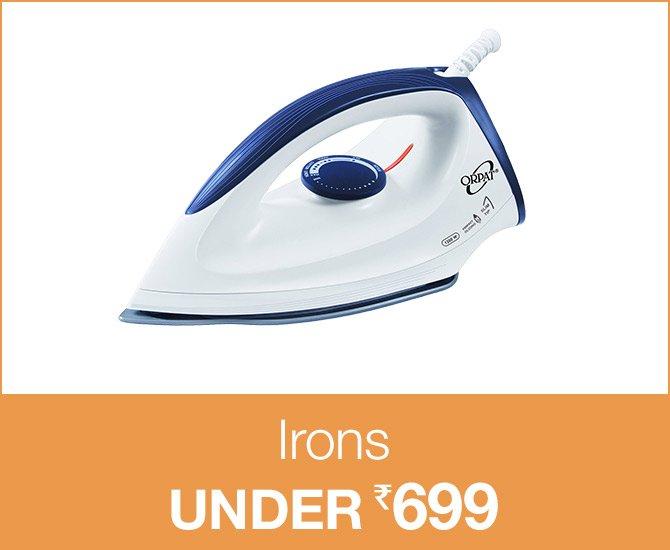 Irons under 699