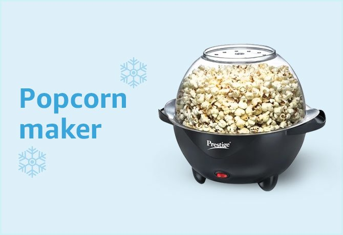 Pop corn makers