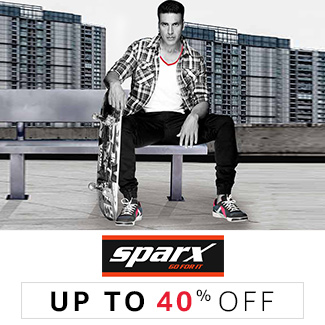 Sparx: Up to 40% off