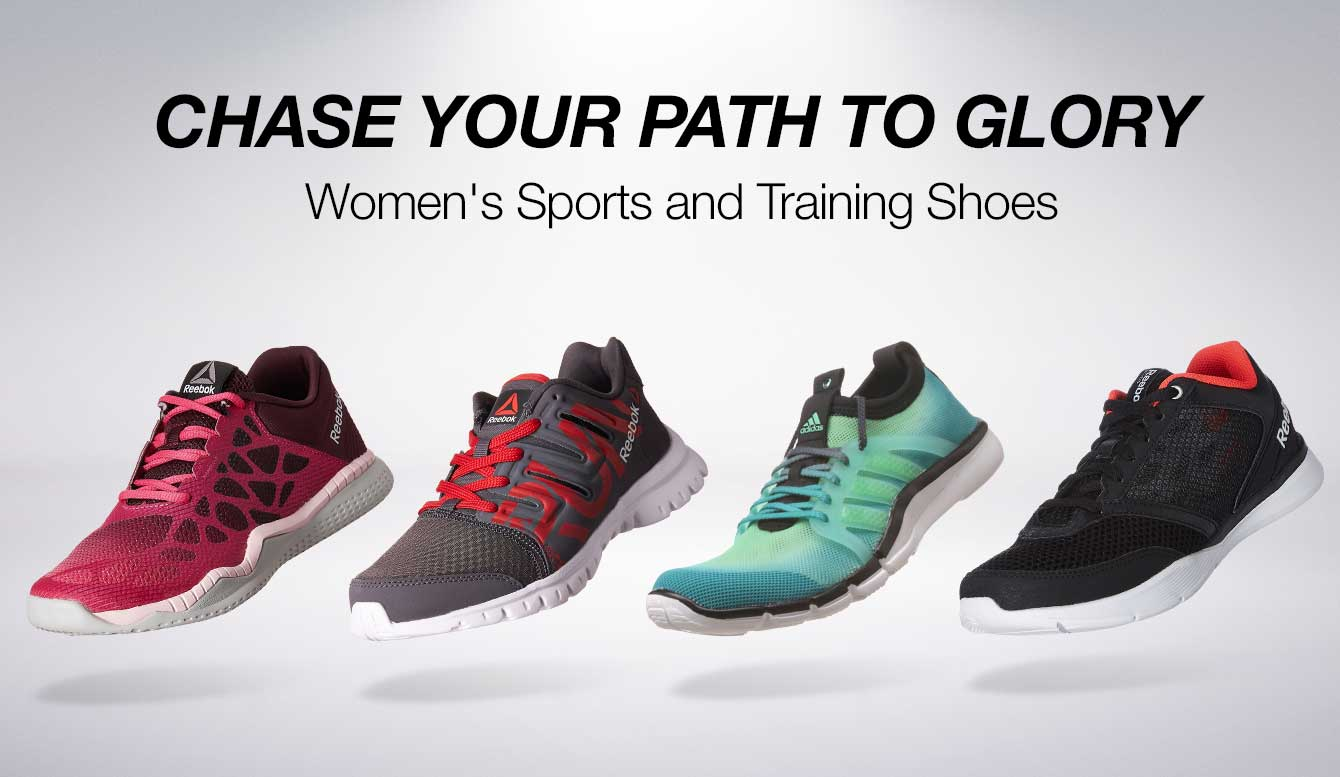 Women sports and training shoes