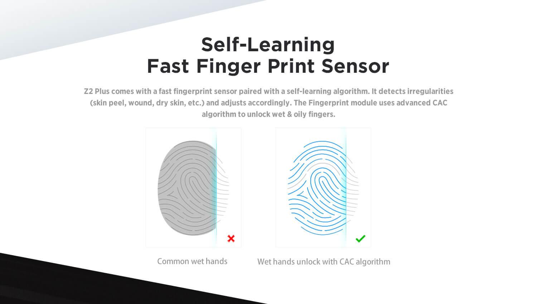Self-Learning Fast Finger Print Sensor